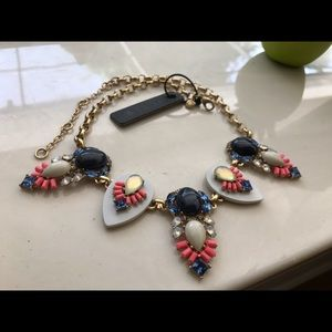 ❤️NWT JCrew Multicolor Gold Layered Necklace❤️
